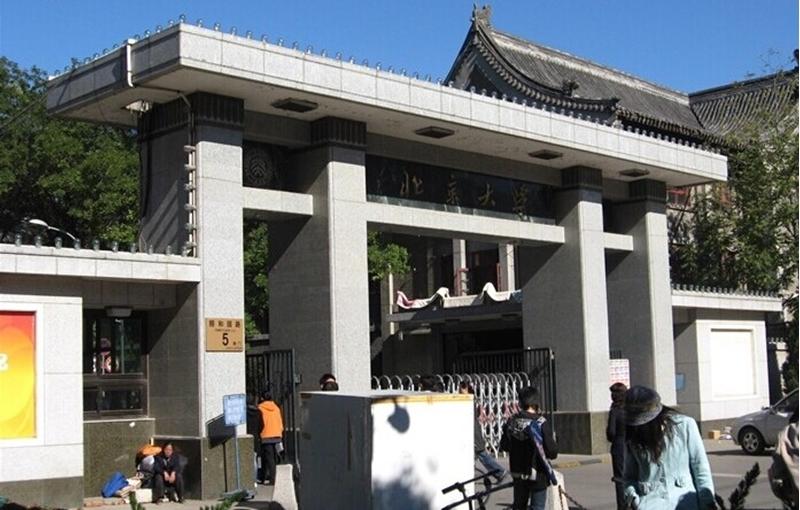 北京大学校门简笔画