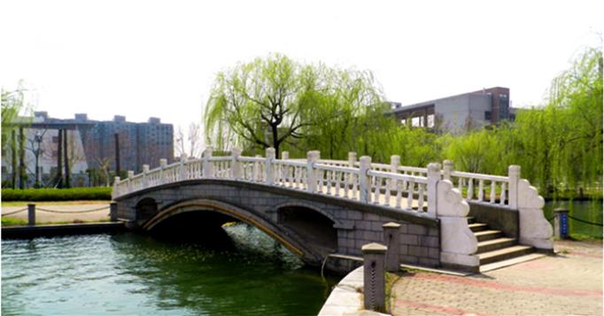 南京航空航天大学 砚湖石桥