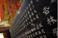 南京中医药大学 石碑