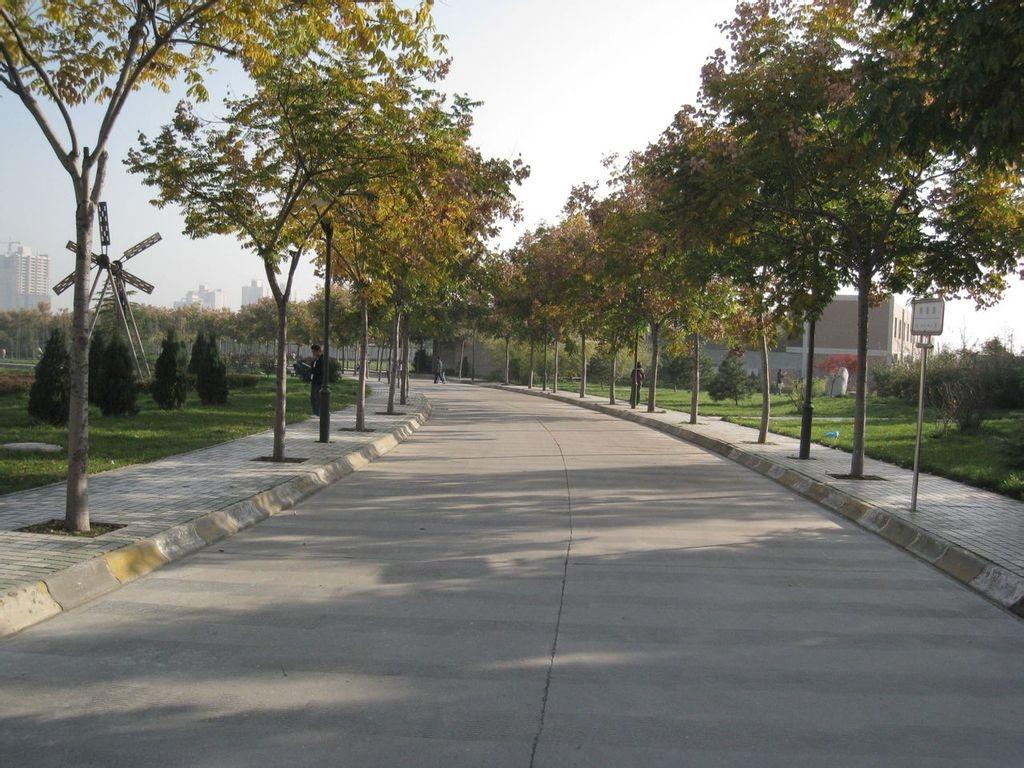 西安邮电大学 道路