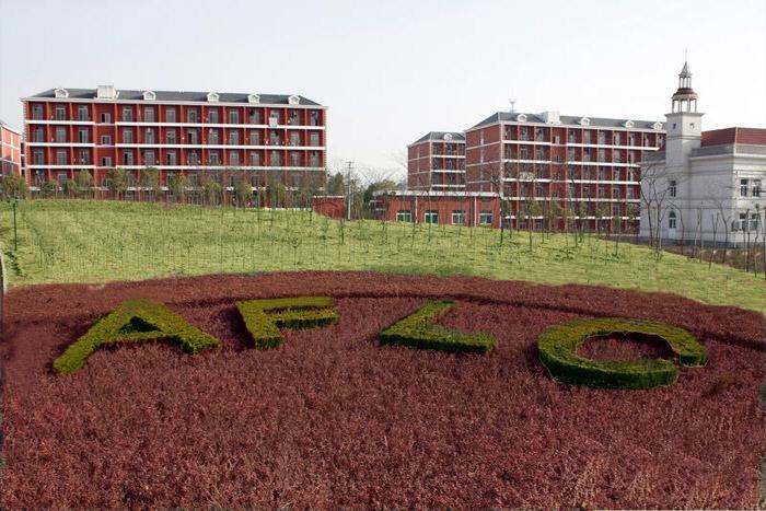安徽国际商务学院风景