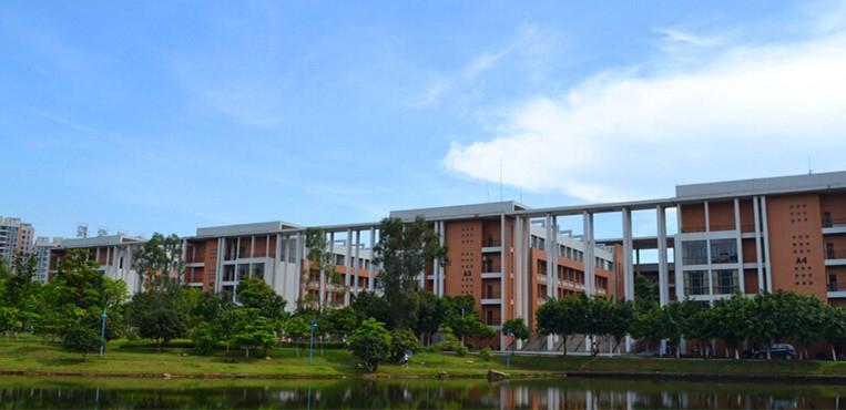 华南理工大学广州学院 教学楼图片