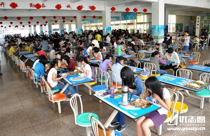 青岛滨海学院 食堂