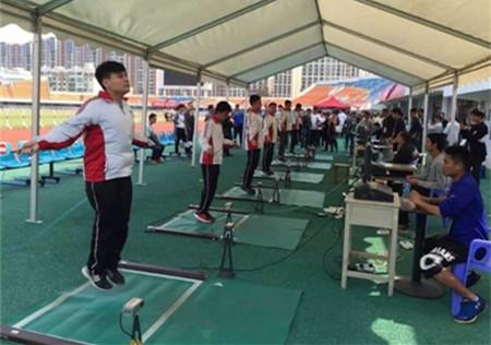 2017年江西全省体育专业统考圆满结束