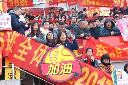 长沙今年55189人报名参加高考:文理各占一半