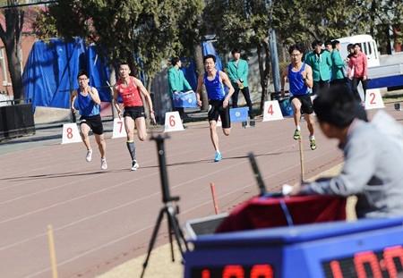 2017年北京市统考考生体育专业成绩分布