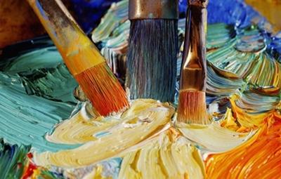 认为学美术就是要当画家,当不了画家没有什么太好的出路,美术的就业面图片