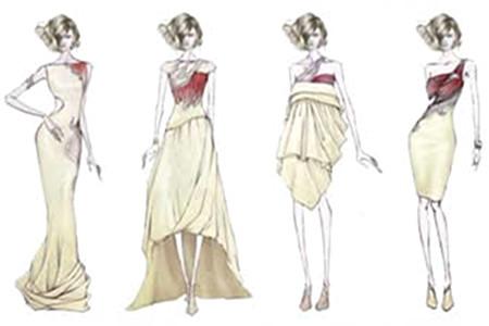主要课程:服装结构设计与制作