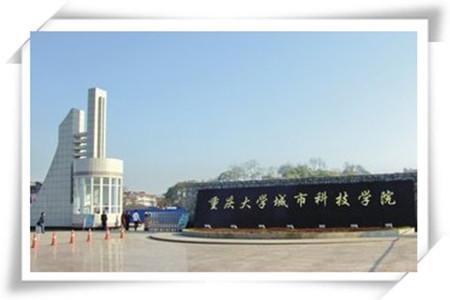 国家统一印制的重庆大学城市科技学院毕业